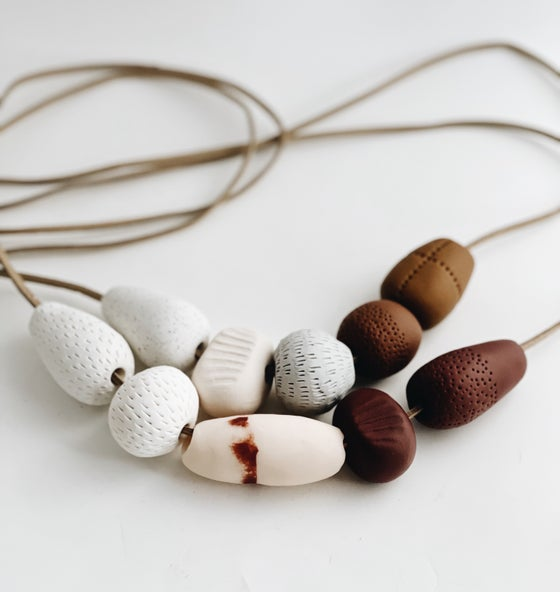 Image of Organic form necklaces