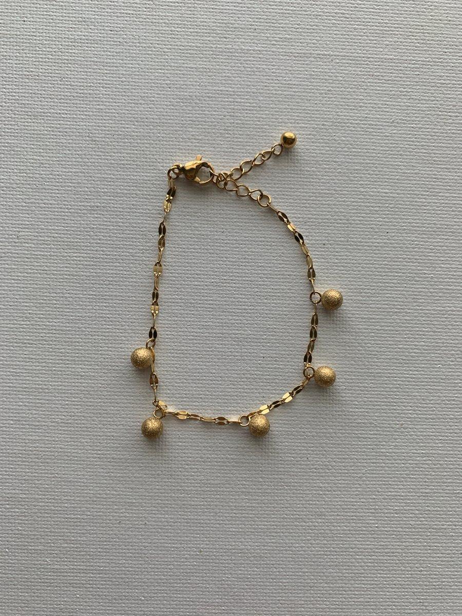 Image of BAMBII • Ball Dangle Bracelet