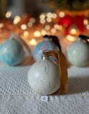 Marbled Ornaments - Winter