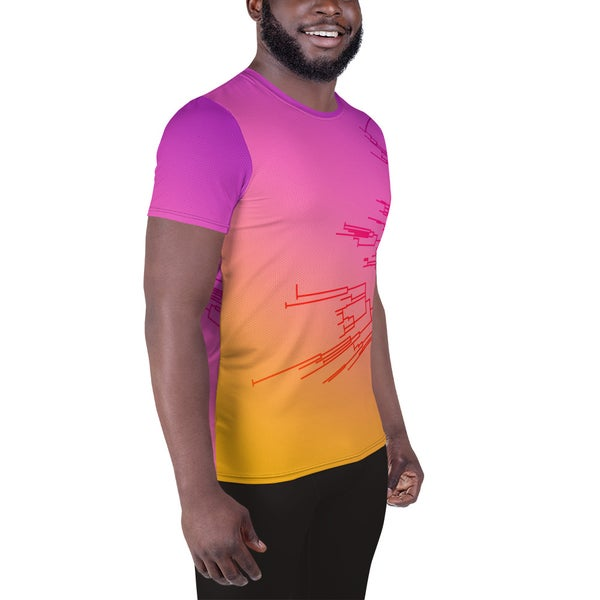 Image of Circular Phylogeny Relaxed Fit Athletic T-shirt