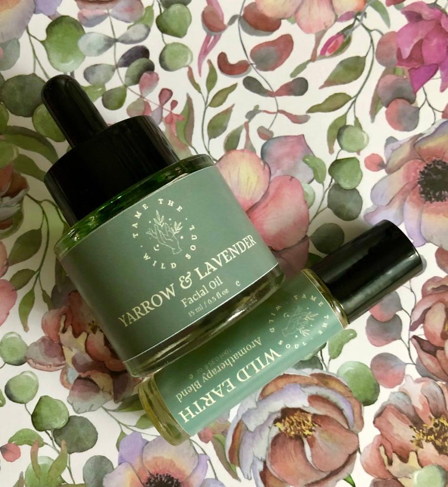 Image of Yarrow & Lavender Facial Oil 15 ml