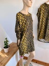 Milano pocket dress - animal prints