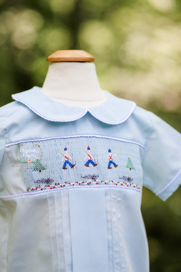 Image of Boy's Smocked Nutcracker Collection