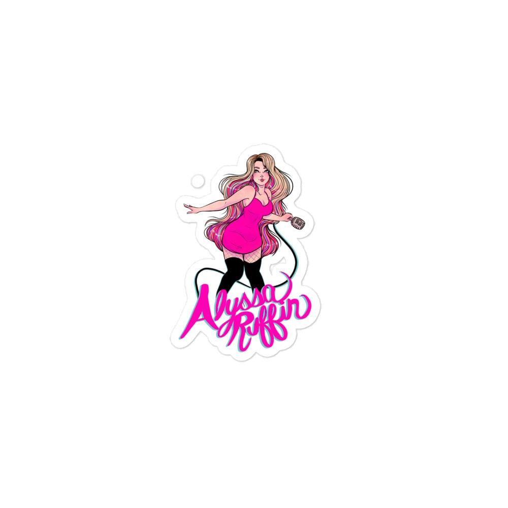 Image of Signature Pink Lady Sticker