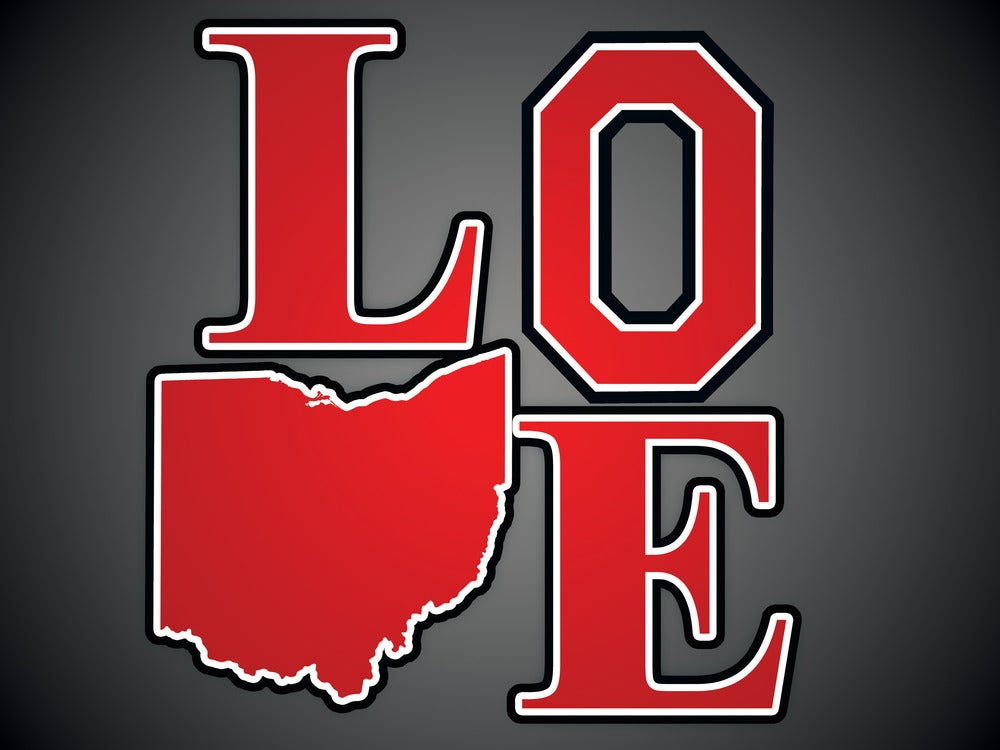 Image of Ohio Love Poster