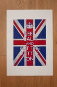 Image of Keep Calm and Put the Kettle On print, large