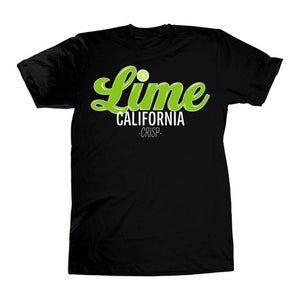 Image of Lime Truck Tee (Black)