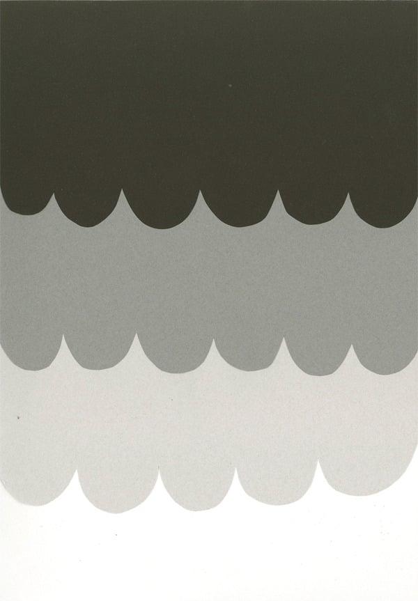 Image of Scallops print