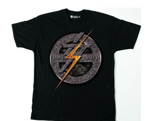 Image of Stampede 'A Sudden Impulse' Stone Circle Tee