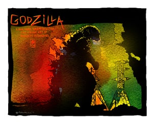 "Image of ""GONDZILLA"" Limited Edition Archival Giclée Print"