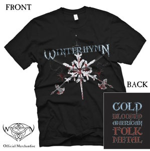 Image of Metal Snowflake Shirt (SIZE SMALL ONLY - ONE LEFT)