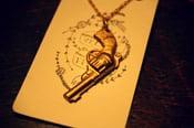 Image of Brass Pistol Necklace