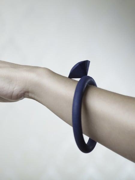 Image of Thin Collar Diamond Bracelet