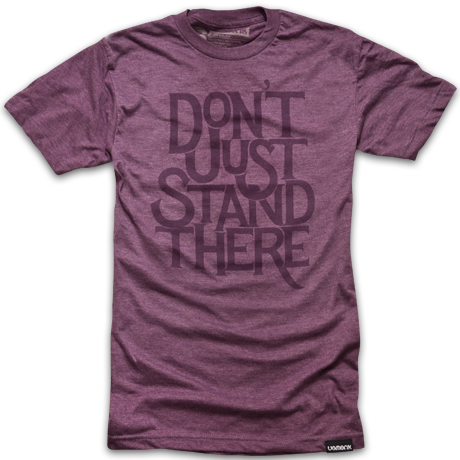 Image of DON'T JUST STAND THERE