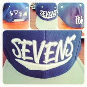 Image of Sevens x BBi SnapBack Collab ( Navy & Silver )