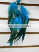 Image of Feathered Chain Earrings