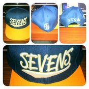 Image of Sevens x BBi SnapBack Collab ( Navy & Gold )