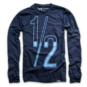 Image of HALF FULL (LONG SLEEVE)