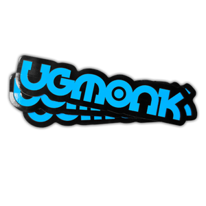 Image of UGMONK STICKERS (3-PACK)