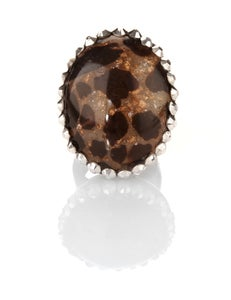 Image of Plastik-Animal Print ring