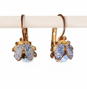 Image of Little ladybug gem earring