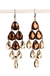 Image of Chandelier Crystal Earring