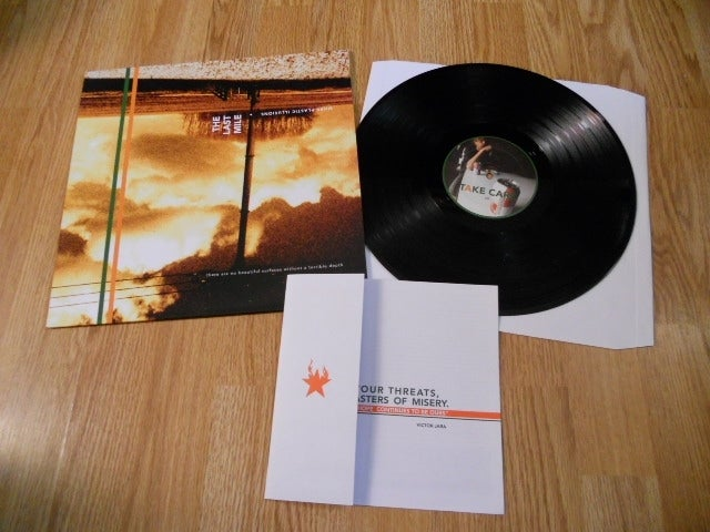 Image of The Last Mile - More Plastic Illusions lp