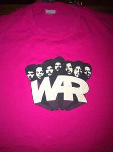 Image of **NEW** War T-shirt - Pink Medium