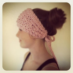 Image of snow bunny earwarmers