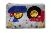 Image of Special Edition Mix Tape Pouch - See Through Tape