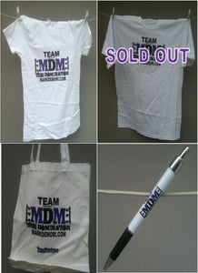 Image of 2011 Team MDM Tees, Pens & Totes