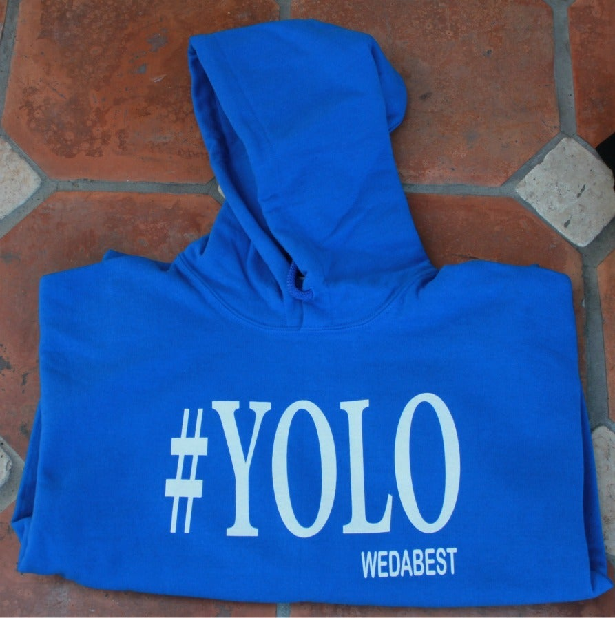 Image of Royal Blue #YOLO HOODIES
