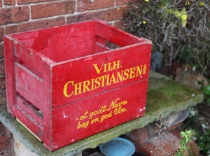 Image of Danish 'Vilhelm Christiansen' Crates
