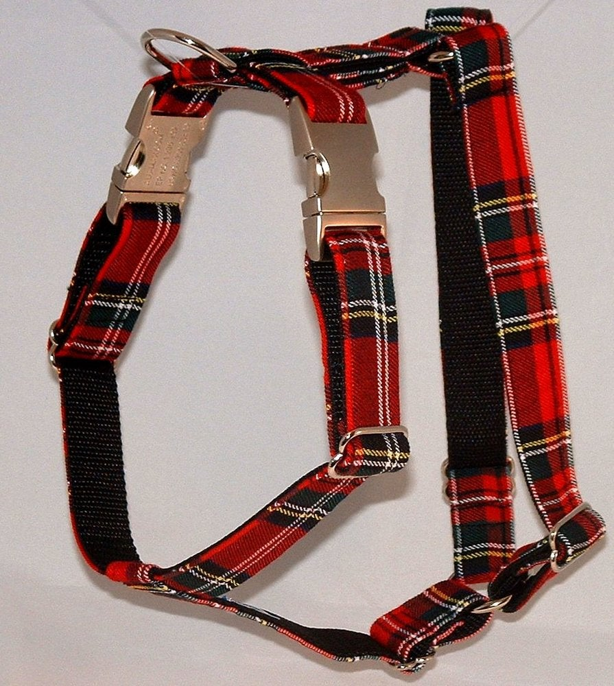 Scottish Tartan Dog Harness