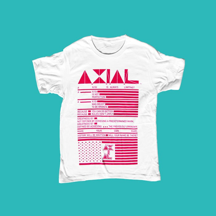 Image of A X(10) Is Always Limiting - Acronym Tee (double sided print)