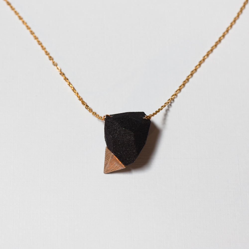 Image of hyper rock necklace
