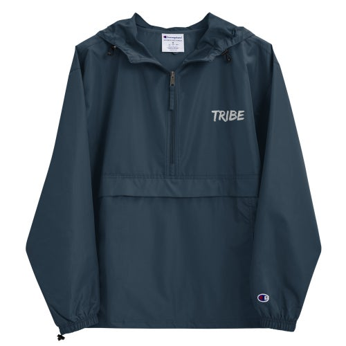 Image of Tribe x Champion Embroidery Winbreaker