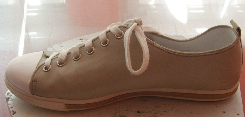 Image of Max Mara Leather Sneakers