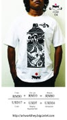 Image of THEY Artwork printed T-shirt Code 04