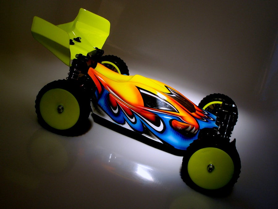 Image of Phat Bodies - 'PIRANHA'  Bodyshell for Losi Mini 8ight, Associated Reflex 14B, LC Racing EMB-1
