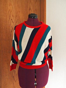 Image of Striped Sweater