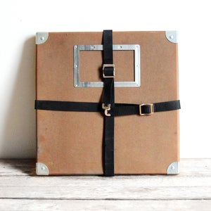 Image of Brown Film Reel Shipping Box