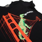 Image of Kids'  Black SF Dinosaur Tee