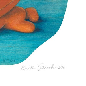 """Image of """"Citruside"""" giclee print"""