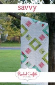 Image of savvy quilt pattern #107 (PDF VERSION)