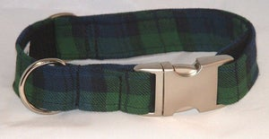 Image of Black Watch Tartan Collar in the category  on Uncommon Paws.