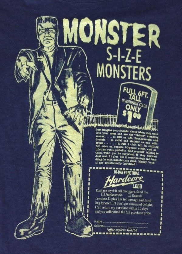 Image of Monster Monster! Guys & Ladies T-Shirt