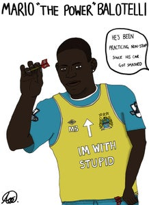 Image of Mario 'The Power' Balotelli Poster