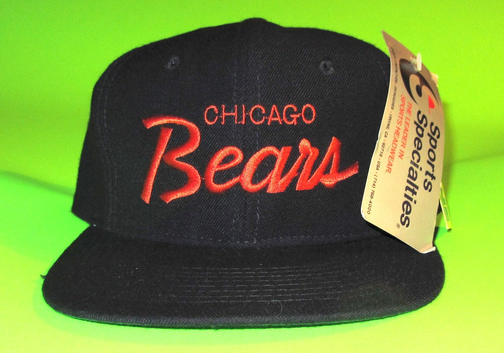 9f8bdf74 *Sold Out* TISA Chicago Bears Sports Specialties Script Snapback Hat