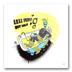 Image of PEET MASSÉ <BR> Less Peeps! But How? <BR> (Screen print)
